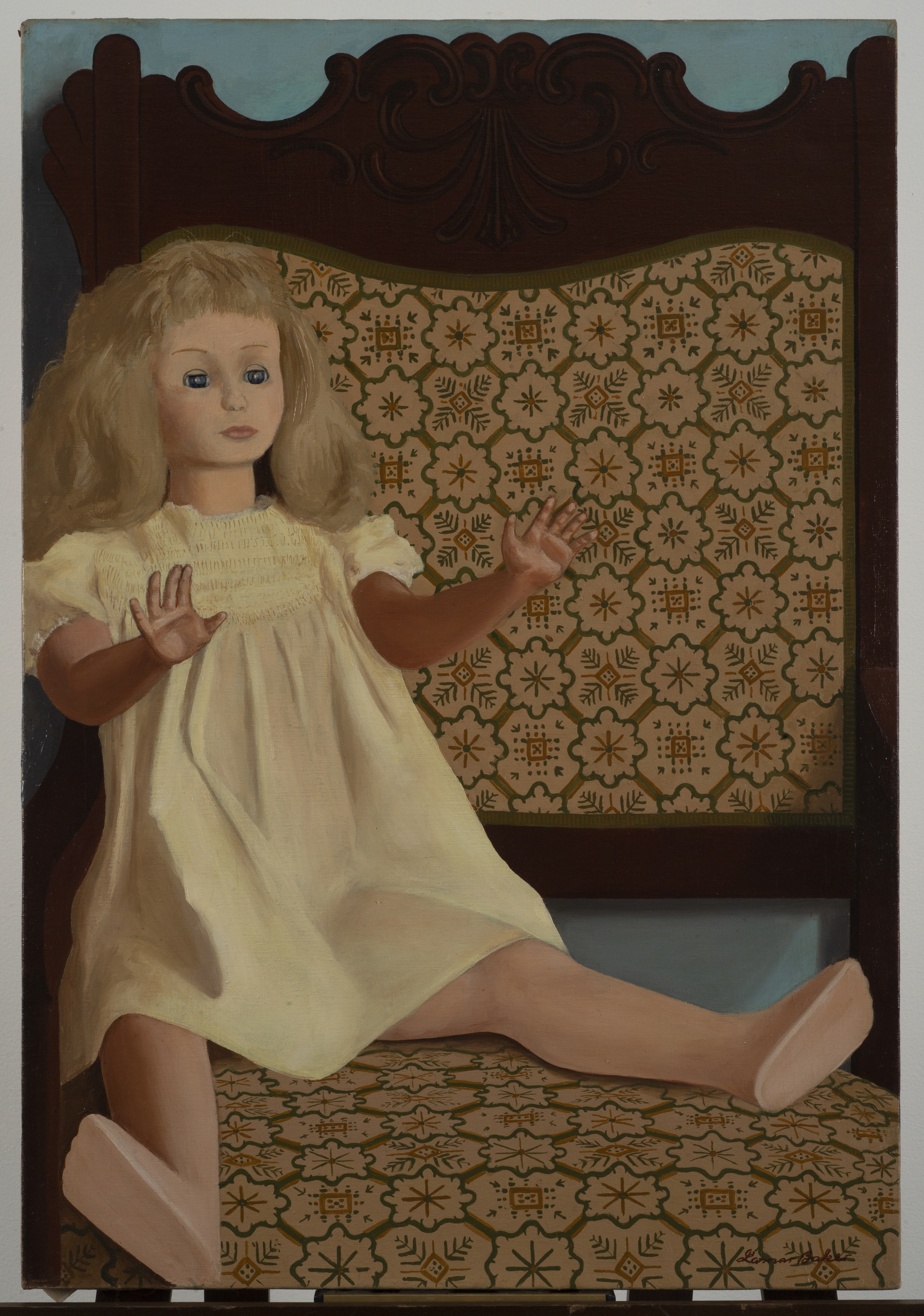Untitled (Doll in Chair)