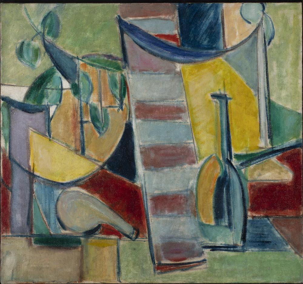 Cubist Tabletop Still Life