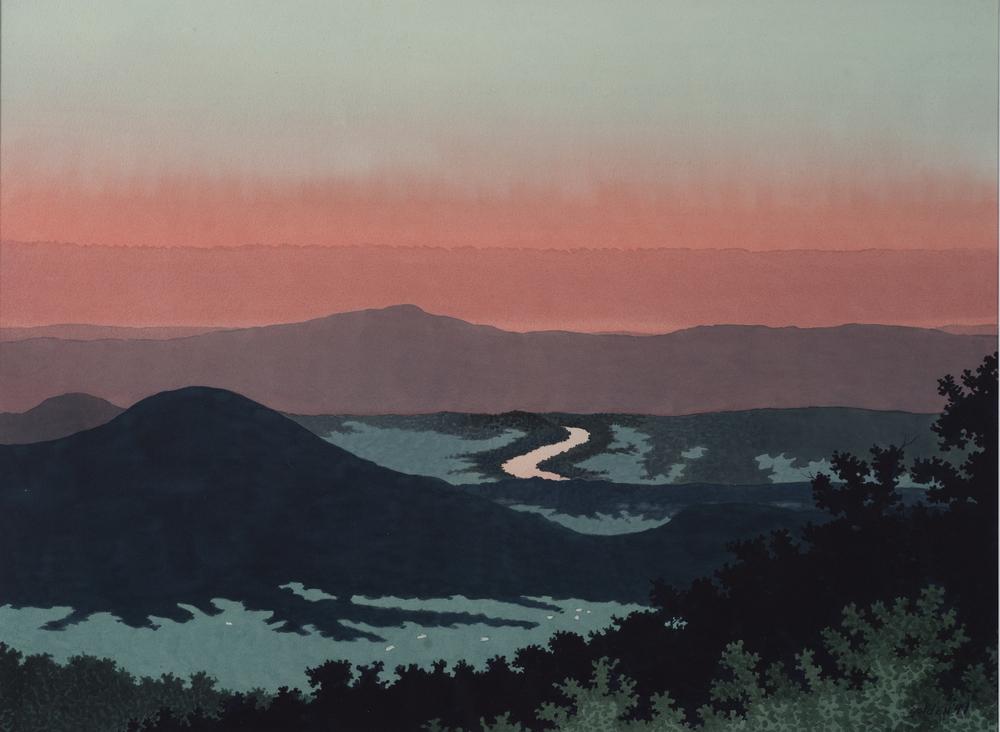 Blue Ridge Evening Views III