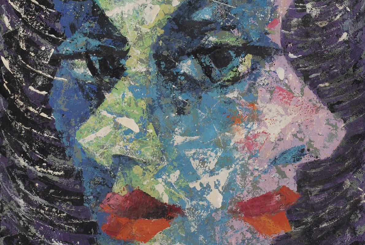 Oil on Canvas by Xanti Schawinsky